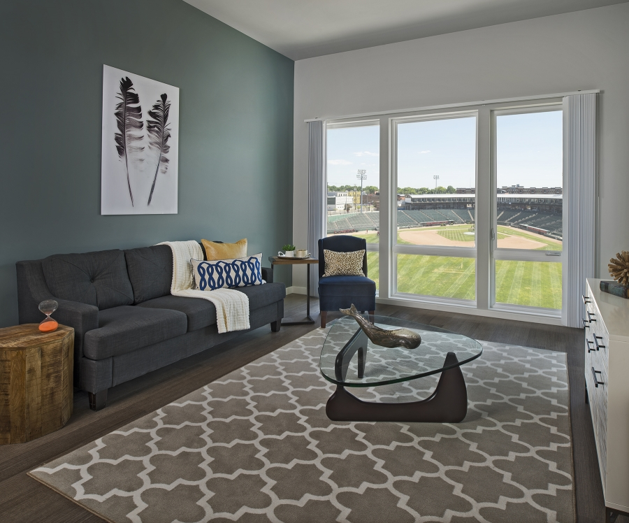 Outfield apartment interior
